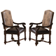 Coaster Harrelson Side Chair in Dark Finish (Set of 2) 180032