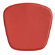 Zuo Modern Mesh/Wire Chair Cushion Red (Set of 2) 188006