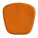 Zuo Modern Mesh/Wire Chair Cushion Orange (Set of 2) 188007