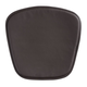 Zuo Modern Mesh/Wire Chair Cushion Espresso (Set of 2) 188010