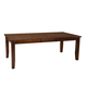 Standard Furniture Abaco Extension Leg Table in Dark Tobacco Brown 18921