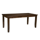 Standard Furniture Abaco Counter Height Extension Leg Table in Dark Tobacco Brown 18931