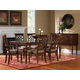 Standard Furniture Woodmont Leg Table Set W/18