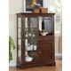 Standard Furniture Woodmont Server Display in Cherry 19182