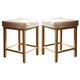 Universal Furniture Paula Deen Down Home Pull-Up Counter Stool (Set of 2) in Oatmeal 192602