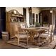 Universal Furniture Paula Deen Down Home Family-Style Table Dining Set w/ Down Home Chairs in Oatmeal 192655