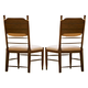 Universal Furniture Paula Deen Down Home Side Chair (Set of 2) in Molasses 193624