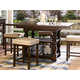 Universal Furniture Paula Deen Down Home Gathering Table in Molasses 193654
