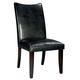 Standard Furniture La Jolla Parson's Semi PU Chair (Set of 2) in Black 19975
