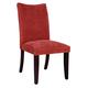 Standard Furniture La Jolla Parson's Velvet Chair (Set of 2) in Red 19984