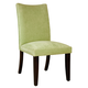 Standard Furniture La Jolla Parson's Velvet Chair (Set of 2) in Green 19986