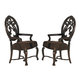 Homelegance Montvail Arm Chair in Cherry (Set of 2) 2105A
