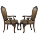 Homelegance Cromwell Arm Chair in Cherry (Set of 2) 2106A