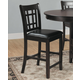 Homelegance Junipero Counter Height Chair in Dark Cherry (Set of 2) 2423-24