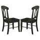 Homelegance Merritt Side Chair in Dark Oak (Set of 2) 2427S