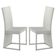 Homelegance Clarice Side Chair in White (Set of 2) 2447WS