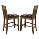 Homelegance Marcel Counter Height Chair in Warm Oak (Set of 2) 2489-24