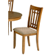 Liberty Furniture Santa Rosa Mission Side Chair in Mission Oak Finish 25-C8600S (Set of 2) EST SHIP TIME IS 4 WEEKS