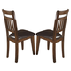 Homelegance Vasquez Side Chair in Warm Oak (Set of 2) 2504S