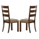 Homelegance Clayton Side Chair in Dark Oak (Set of 2) 2515S