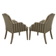 Homelegance Euro Casual Side Chair Table in Light Brown (Set of 2) 2516A