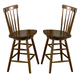 Liberty Furniture Creations II 30 Inch Copenhagen Barstool in Tobacco Finish 38-B1730 (Set of 2)