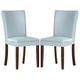 Homelegance Belvedere Side Chair in Sky Blue (set of 2) 3276BS