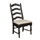 Kincaid Homecoming Solid Wood Ladderback Side Chair (Set of 2) 33-061 in Vintage Pine & Black
