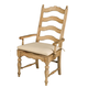 Kincaid Homecoming Solid Wood Ladderback Arm Chair (Set of 2) in Vintage Pine 33-062