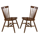 Liberty Furniture Creations II Copenhagen Side Chair in Tobacco Finish 38-C50 (Set of 2)