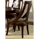 Somerton Cirque Side Chair in Merlot 416-36 (Set of 2)
