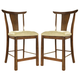 Somerton Dakota Bar Stool in Brown 425-38 (Set of 2)