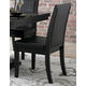 Homelegance Cicero Side Chair in Black (set of 2) 5235S