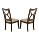 Homelegance Stardust Side Chair in Espresso (set of 2) 5312S
