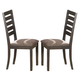 Homelegance Natick Side Chair in Warm Espresso (set of 2) 5341S