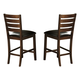 Homelegance Eagleville Counter Height Chair in Warm Brown Cherry (set of 2) 5346-24