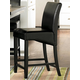 Homelegance Papario Counter Height Chair in Black (set of 2) 5351-24