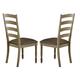 Homelegance Nash Side Chair in Oak (Set of 2) 5372S