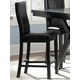 Homelegance Rigby Counter Height Chair in Espresso (set of 2) 5375-24
