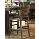 Homelegance Everett Counter Height Chair in Medium Oak (set of 2) 5381-24