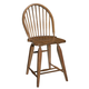 Broyhill Attic Heirlooms Windsor Counter Stool in Natural Oak Stain 5397-97S (Set of 2)