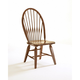Broyhill Attic Heirlooms Windsor Side Chair in Rustic Oak (Set of 2)