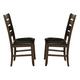 Homelegance Ameillia Side Chair in Dark Oak (set of 2) 586S