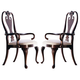 Kincaid Carriage House Solid Wood Queen Anne Arm Chair(Set of 2) 60-062N
