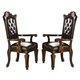 Acme Vendome Cherry Finish Arm Chair (Set of 2) 60004A CLEARANCE SPECIAL