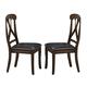 Homelegance Kinston Side Chair in Distressed Oak (set of 2) 630S