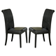Homelegance Sierra Side Chair in Ebony (set of 2) 722PUS
