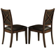 Homelegance Verona Side Chair in Distressed Amber (set of 2) 727S