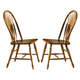 Liberty Furniture Low Country Windsor Back Side Chair in Suntan Bronze Finish 76-C1000S (Set of 2)
