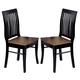 Homelegance Liz Side Chair in Antique Black (set of 2) 764S